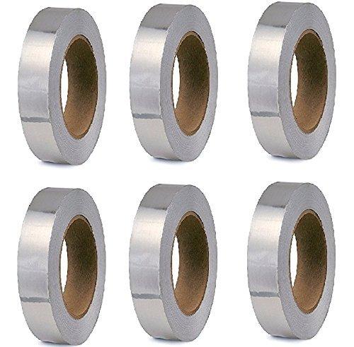 ELA's Aluminium FOIL Adhesive Tape 24mm X 20 Mtr Set of 06 Price & Reviews