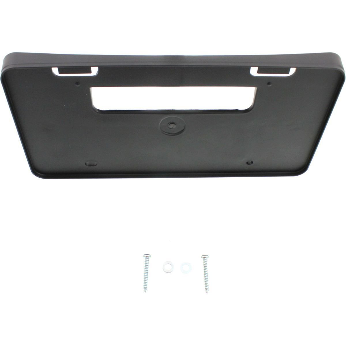 DAT 14-16 TOYOTA FOR USE WITHOUT CHROME MODELS L LE CE COROLLA BLACK FRONT LICENSE PLATE BRACKET TO1068122 DAT AUTO PARTS