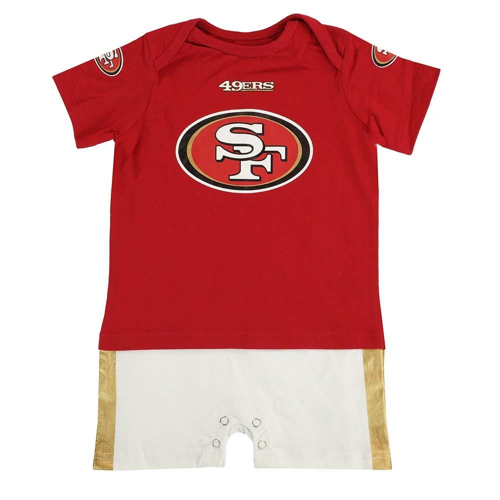 Galleon - NFL San Francisco 49ers Infant Boys Fan Jersey Romper 2ff800f71