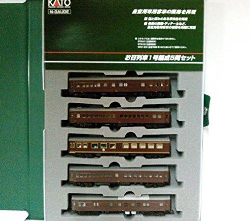 [해외] KATO N게이지 특별 열차 1 호편성 5 양세트 10-418 철도 모형 전철