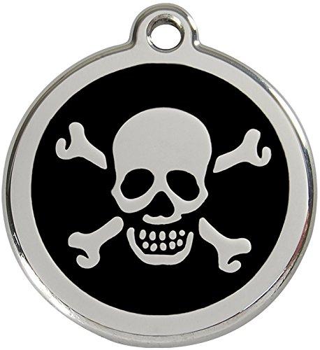 red-dingo-skull-cross-bone-enamel-dog-tag-black-medium