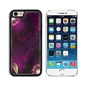 Digital Floral Pink Purple Pattern Mogo Outlet iPhone 6 Cover Premium Aluminium Design TPU Case Open Ports Customized Made to Order