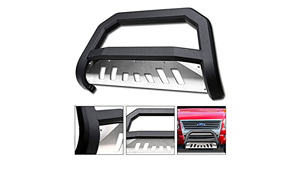 Grille & Brush Guards with SS Aluminum Skid Plate VXMOTOR for 2006 ...