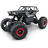 RC Cars Jeep Trucks Off-road Vehicle Monster Trucks 4WD Drive Car 1/14 Scale 2.4GHz RC Hobby Cars High Speed Racing Cars- Black