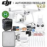 DJI Phantom 4 Pro V2.0/Version 2.0 Quadcopter 4 Battery Ultimate Bundle