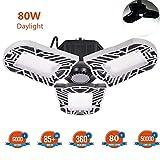 60W Deformable LED Garage Light Ceiling Light