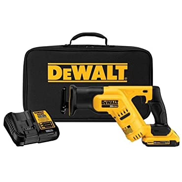 DeWalt DCS387D1R Cordless Li-Ion Compact Reciprocating Saw Kit (Factory Reconditioned)