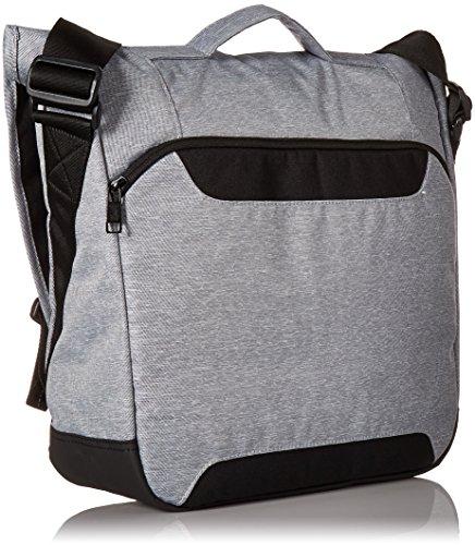 Black Grey adidas ID Heather Messenger Bag Sport wTq6pP