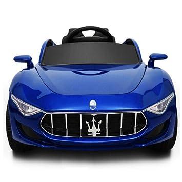 Bseion Vehículo deportivo para niños Maserati Vehículo de control remoto de cuatro ruedas a 2.4 GHz ...