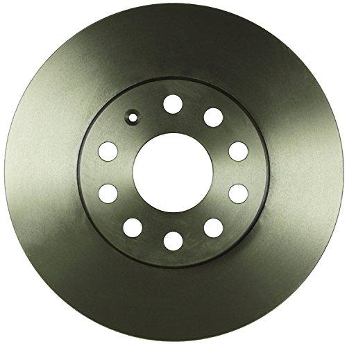 (Bosch 53011411 QuietCast Premium Disc Brake Rotor For: Audi A3, A3 Quattro; Volkswagen Beetle, Eos, Golf, Golf SportWagen, GTI, Jetta, Rabbit,)