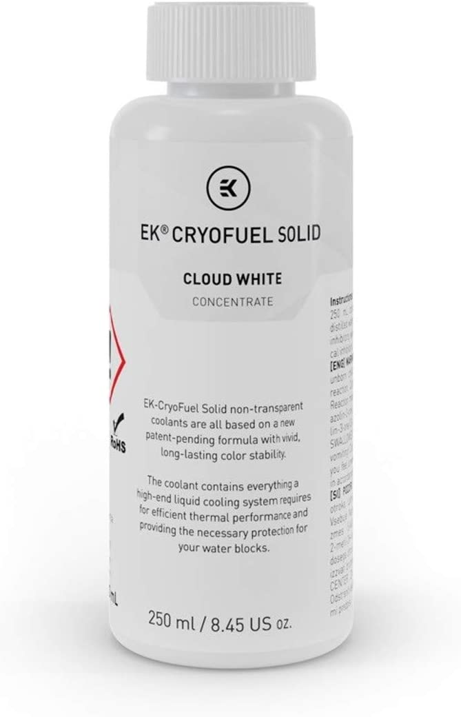 EKWB EK-CryoFuel Solid Concentrate Coolant, 250mL (Cloud White)