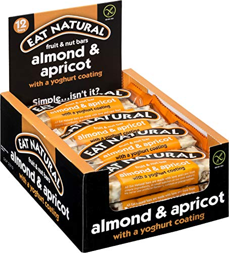 Eat Natural Mixed Nut Bar Coffee Chocolate with Peanuts and Almonds 45 g (Pack of 12)