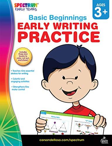 Spectrum | Early Writing Practice Workbook