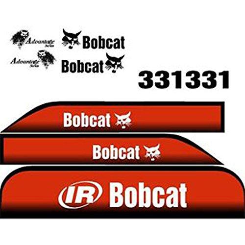 new-advantage-series-bobcat-331-excavator-whole-machine-decal-set