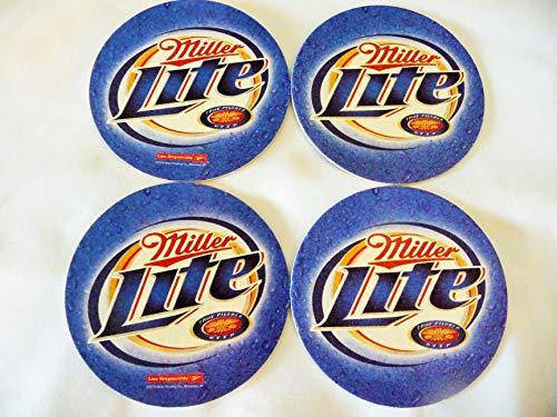Miller Lite Beer Coaster Set -