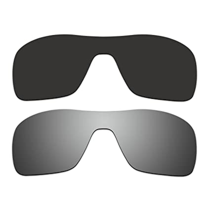 ceb6b3451c Amazon.com   2 Pair ACOMPATIBLE Replacement Polarized Lenses for Oakley  Turbine Rotor Sunglasses OO9307 Pack P5   Sports   Outdoors