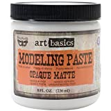 Prima Marketing Art Basics Modeling Paste, 8-Ounce, Opaque Matte