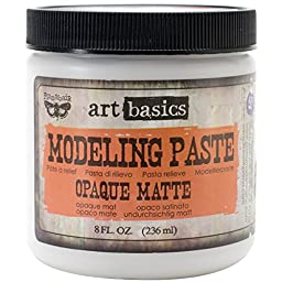 Art Basics Modeling Paste 8oz-Opaque Matte