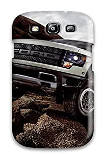 Snap-on Case Designed For Galaxy S3- 2013 Ford Svt Raptor Static Cars Ford