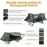Yescom Single Tent Cot Folding Portable Waterproof