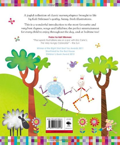 Big Book Of Nursery Rhymes Kali Stileman 9780857530448 Amazon