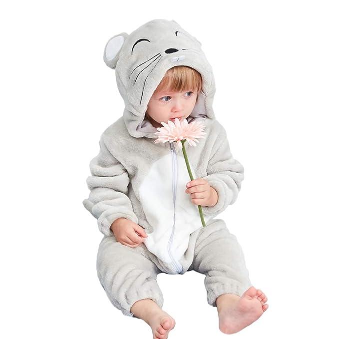 Monos Bebé Recién Nacido Pijama Bebés Algodón Mameluco Niñas Niños ...