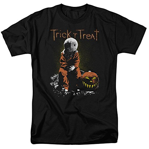 Trick 'R Treat Horror Zombie Comedy Movie Sitting Sam Adult Mens T-Shirt Tee -  Trevco, WBM219