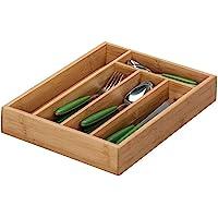 Zeller 25269 Besteckkasten, Bamboo / 34 x 26 x 5