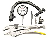 Starrett S898Z-1 Automotive Inspection Kit With Indicator, Pliers, Flex-O-Post & Form Fit Plastic Case