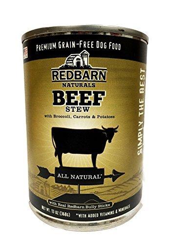 Redbarn Naturals Dog Food Beef Stew 13oz 12 pack