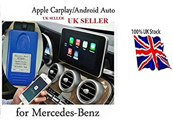 Apple CarPlay and Android Auto activation tool for Mercedes