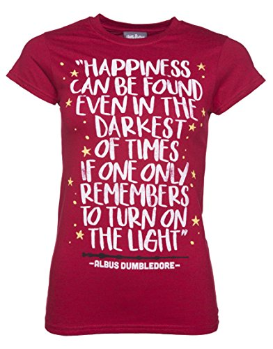 Womens Harry Potter Happiness Can Be Found T Shirt