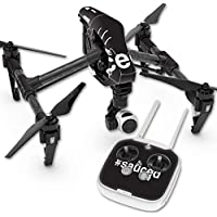 MightySkins Skin For DJI Inspire 1 Quadcopter Drone – Sauced 2 Protective, Durable, and Unique Vinyl Decal wrap cover | Easy To Apply, Remove, and Change Styles | Made in the USA