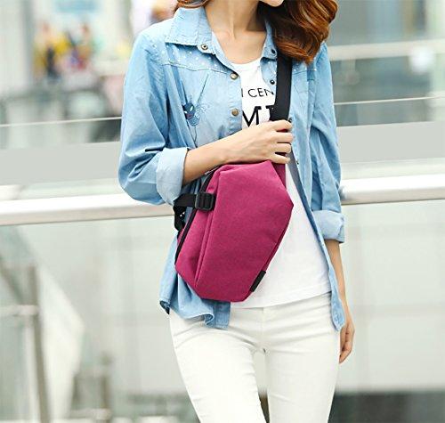 FANDARE Bag Chest Bag Sacs Sling wOrf5w