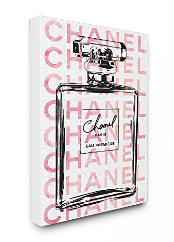 Pink Bottle Perfume - Stupell Industries Glam Perfume Bottle With