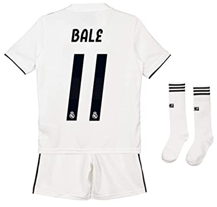 size 40 bfb84 eb043 Amazon.com : ZZXYSY Gareth Bale #11 Real Madrid Kids/Youths ...