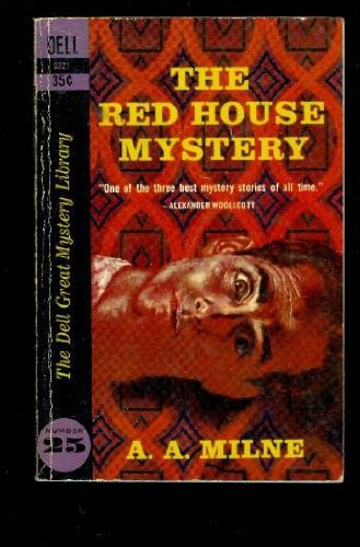 The Red House Mystery (Dell Great Mystery Library) (D321)