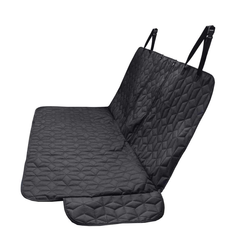 Dog Seat Cover 2 in 1 Thick Pet Car Booster With Side Flaps, Scratch Proof Nonslip Padded Pet Seat Cover Cat Cover Mat For Cars, Trucks, SUV
