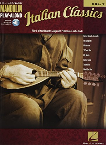 Italian Classics: Mandolin Play-Along Volume 7