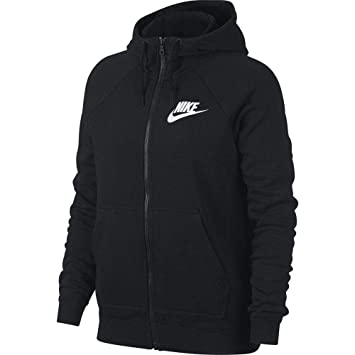 594014e824bd5 Nike W NSW Rally Hoodie Fz Sweatshirt Femme  Amazon.fr  Sports et ...