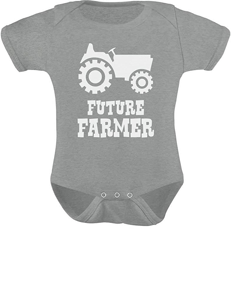 Amazon.com  TeeStars - Future Farmer - Cute Baby Grow Vest Farmers Babies  Gift Baby Bodysuit  Clothing b39c4df0c