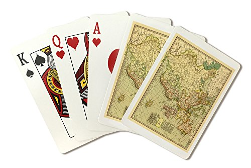 Europe - (1897) - Panoramic Map (Playing Card Deck - 52 Card Poker Size with Jokers) - 1897 Map