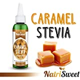 NatriSweet Stevia Liquid Drops (2 fl oz/60 Milliliter) | Zero-Calorie Natural Sugar Substitute | Highly Concentrated Stevia Extract | Naturally Flavored (Caramel)