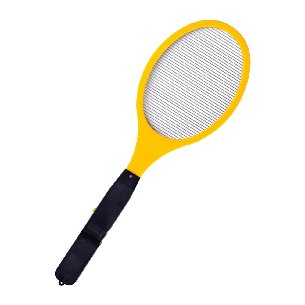 Eastlion AA Battery Indoor & Outdoor Electronic Fly Insect,Bug,Mosquito,Cockroaches,Moths Swatter Zapper ,Yellow