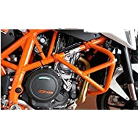 Orange Crash Bar Engine Guard Frame Protector For 2013-2015 KTM Duke 690