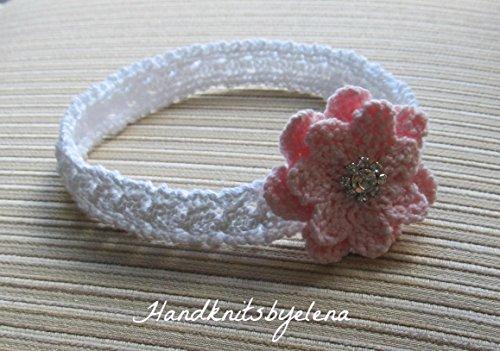 Knitting Pattern Headband Marisha for a Baby Girl