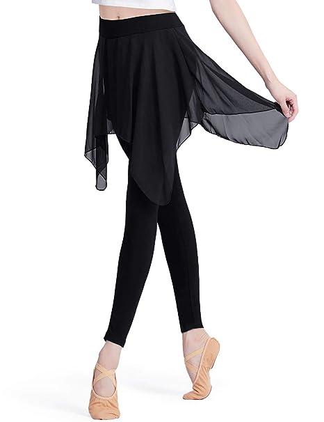 HiDance Leggings con Falda para Mujer, Pantalones de Yoga ...