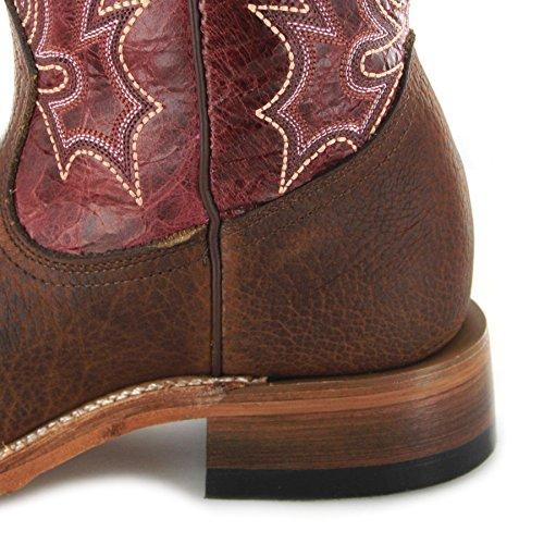 Fb Mode Støvler Boulet 6251 Bisoner Gamle Bydel Magenta / Damer Western Ridestøvler Brune / Ridestøvler / Western Støvler / Damer Støvler Gamle Bydel Magenta (bredde C) mSAgz