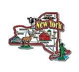 magnet fridge new york - New York State Jumbo Map Magnet