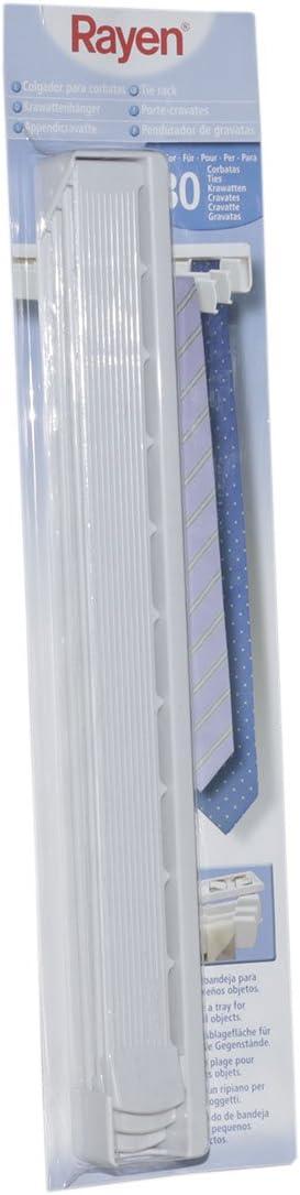 Rayen 2203 - Colgador de Corbatas con Capacidad de hasta 30 ...